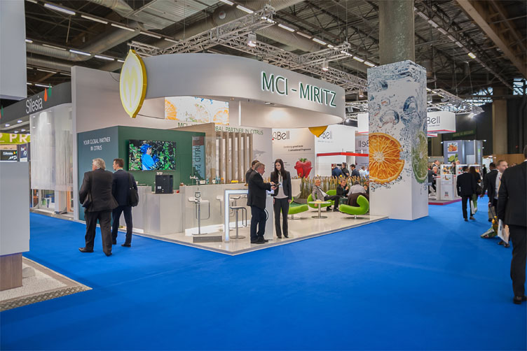 MCI Miritz – Messestand Paris